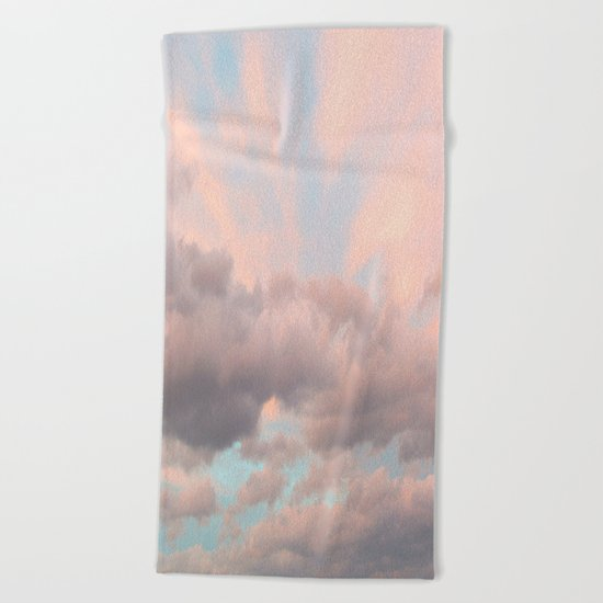 Milkshake Sky Beach Towel
