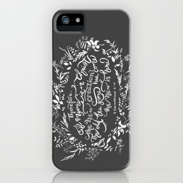 The New Creation- 2 Corinthians 5:17 iPhone Case