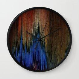 Pixel Sorting 78 Wall Clock