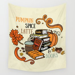 PSL & Books Wall Tapestry