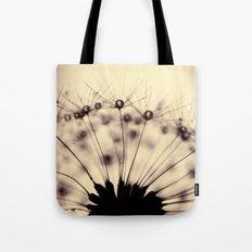dandelion - droplets of mocha Tote Bag