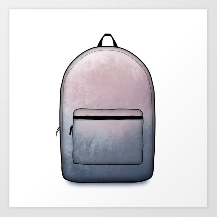 Heard You Like Backpacks Art Print