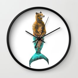 Mer-Bear - West Coast wonders rarely seen Wall Clock