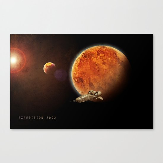 Expedition 2092 Canvas Print