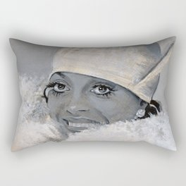 Diana Ross Rectangular Pillow