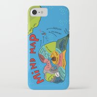 uncharted iPhone & iPod Cases featuring Uncharted Waters by miumau