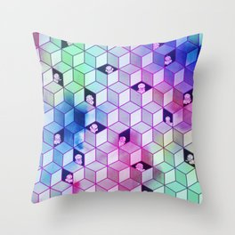 Hide N Seek Jelly Throw Pillow