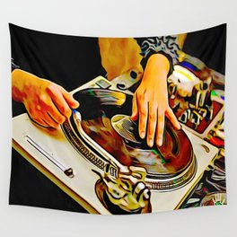 TURNTABLISM: MOVE THE CROWD! Wall Tapestry