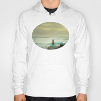 the little mermaid Hoodies featuring Little Mermaid by Kim Bajorek