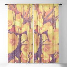 Yellowness Sheer Curtain