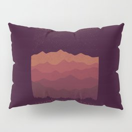 Over The Mountains Pillow Sham