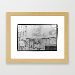 New York City Flea Market Framed Art Print