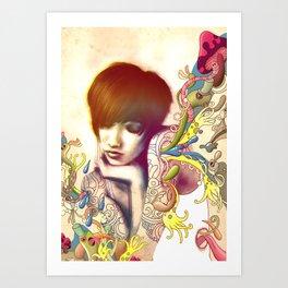 Inspiration Evaporation Art Print