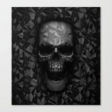 Geometric Skull Canvas Print