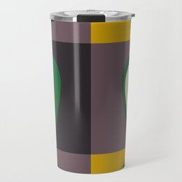 Avocado print Travel Mug