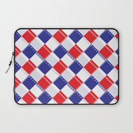 Stars and Stripes Plaid  Laptop Sleeve