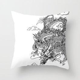 Padre's Dragon Throw Pillow