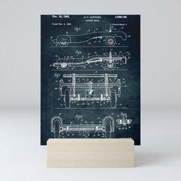 Wagon coaster Mini Art Print