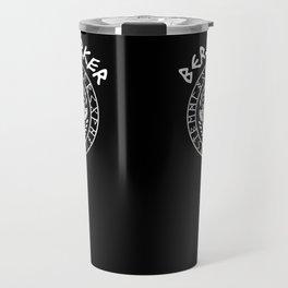 Berserker Vikings Germanic Runes Norse Mythology Travel Mug