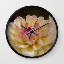 Dalhia Wall Clock