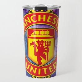 Manchester United Galaxy Design Travel Mug