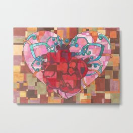 Heart of my Heart Metal Print