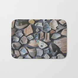 Pottery display Bath Mat