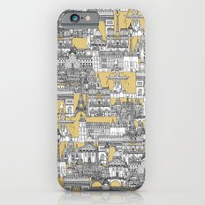 Paris toile gold Slim Case iPhone 6