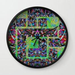Interlocked pattern Wall Clock