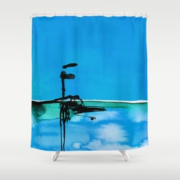Introspection No. 20G by Kathy Morton Stanion Shower Curtain