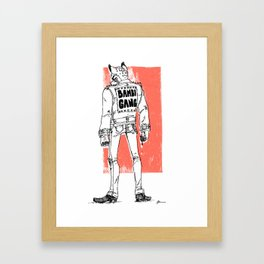 Bambi Gang Framed Art Print