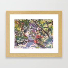 Crystal Springs Rhododendron Garden, spring Framed Art Print