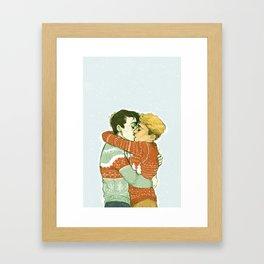 Simon & Kieran (In the Flesh) Framed Art Print