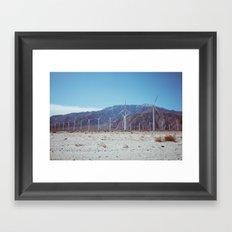 Palm Springs Windmills VII Framed Art Print