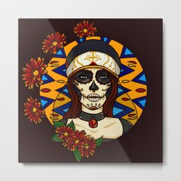 Day of the Dead Celebration Metal Print