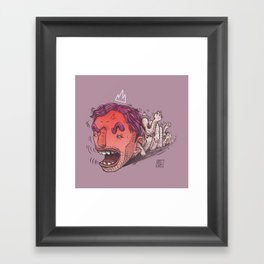 King Hit/Coward Punch Framed Art Print