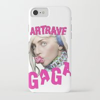 artrave iPhone & iPod Cases featuring ArtRave by Marcelo BM
