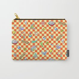 Budgie parrot pattern Carry-All Pouch
