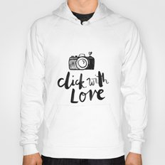 click with love in White Hoody