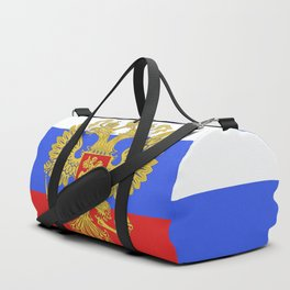 russian flag Duffle Bag