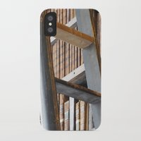 library iPhone & iPod Cases featuring Library by Chris Kavs