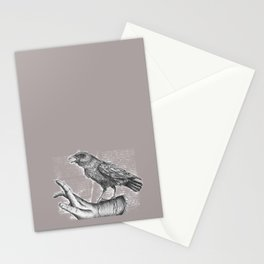 She is free now... Stationery Cards