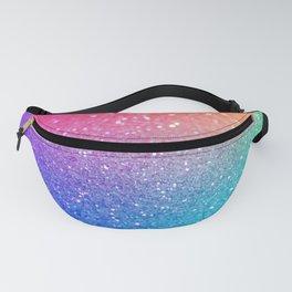 Glitter Rainbow Mermaid Sparkle Ombre Fanny Pack