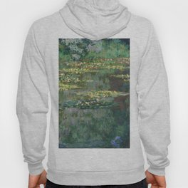 Water Lilies 1904 by Claude Monet Hoody