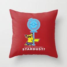 Stardust Dealer Throw Pillow