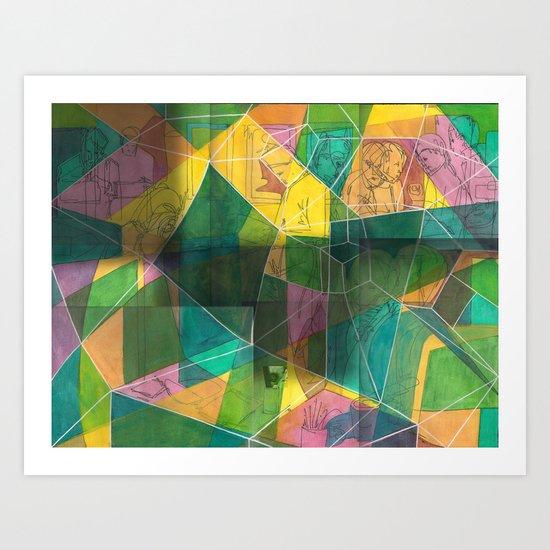 Glaieuluncolis Art Print