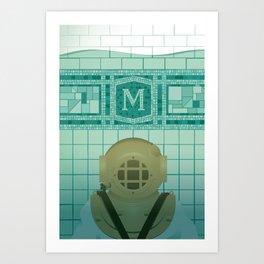 Flooded Art Print