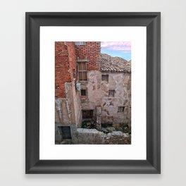 018 Framed Art Print