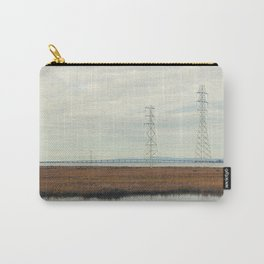 Power Lines above Marshlands, San Francisco Bay #2 Carry-All Pouch