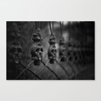 guardians Canvas Prints featuring Guardians by Joanna Kapica